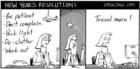 Tina's New Year's Resolutions