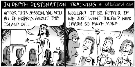 In Depth Destination Training