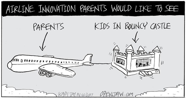 Airline Innovations Parents Would Like