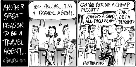 A Great Reason To Be A Travel Agent