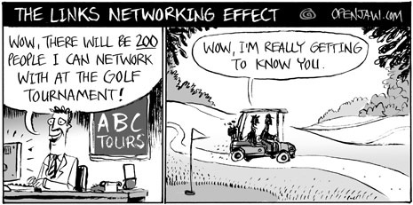 The Net Effect Of Golf Networking