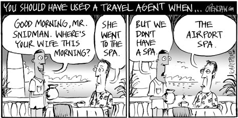 You Should Have Used A Travel Agent When...