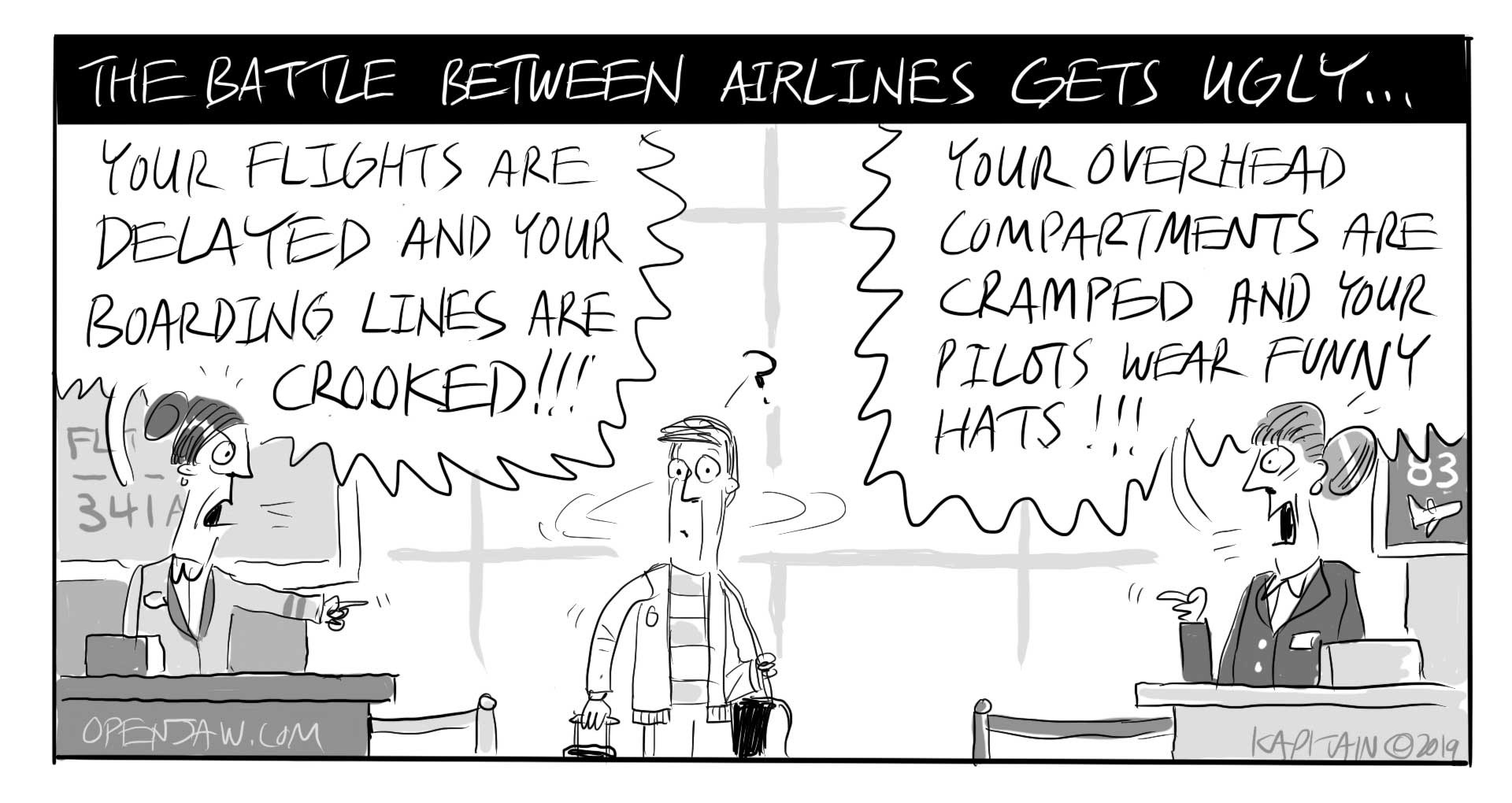 The Battle Of The Airlines