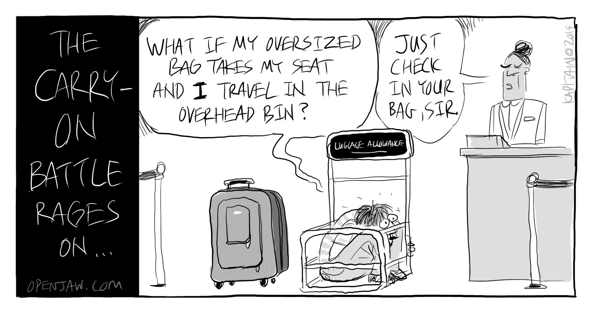 The Carry-On Battle