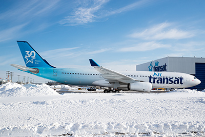 air transat reveals 30th anniversary livery open jaw