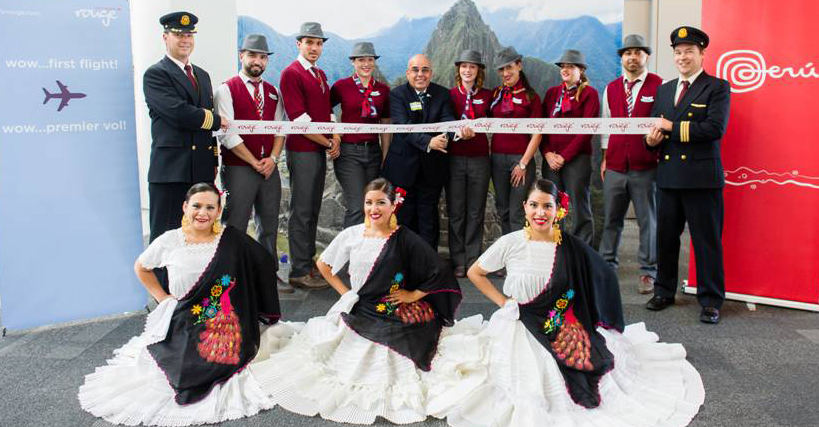 Air Canada Rouge Launches Toronto Lima Route